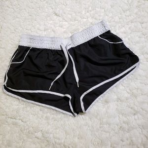 OP Athletic Shorts in Black & White